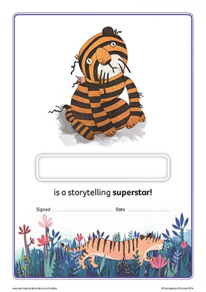 Traders storytelling certificate – EY and KS1