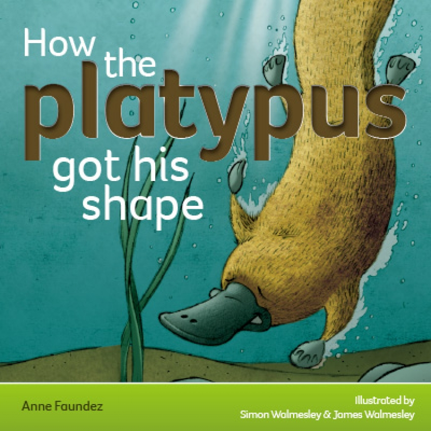 'How the platypus got his shape' whiteboard primary resource – Australia topic