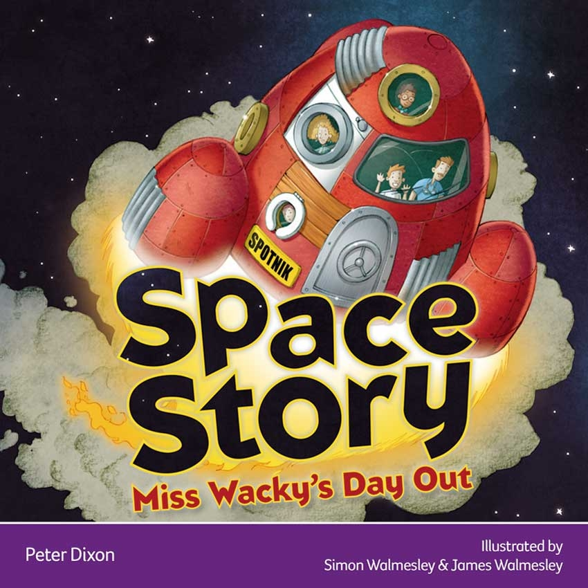 Explore Space Story: Miss Wacky's Day Out