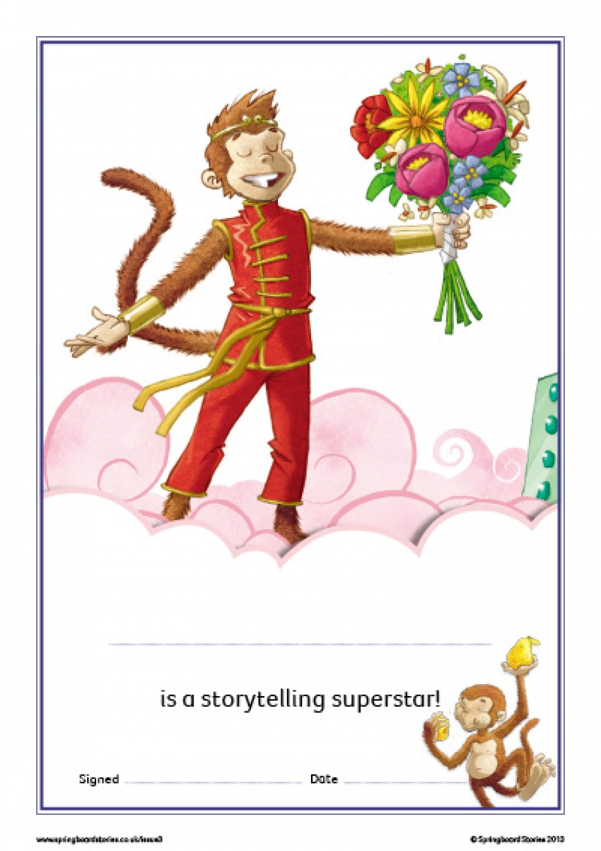 Food storytelling certificate – EY and KS1