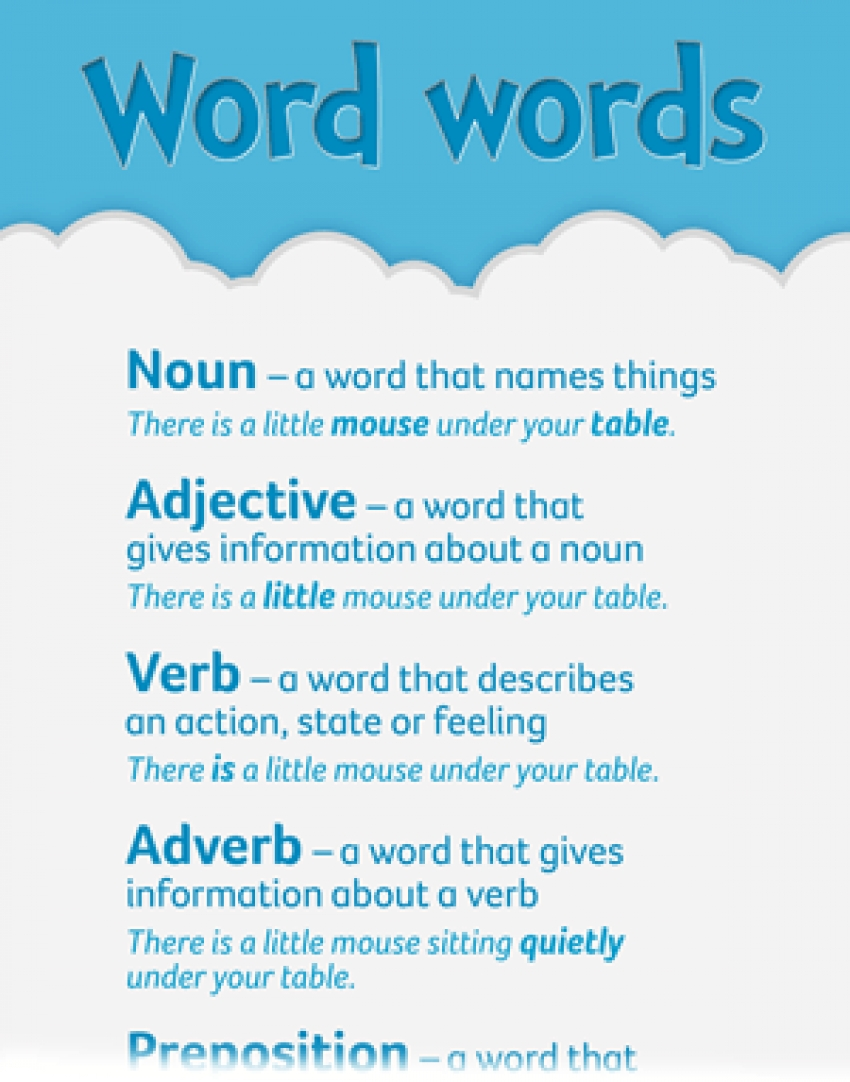 Word words - primary resource