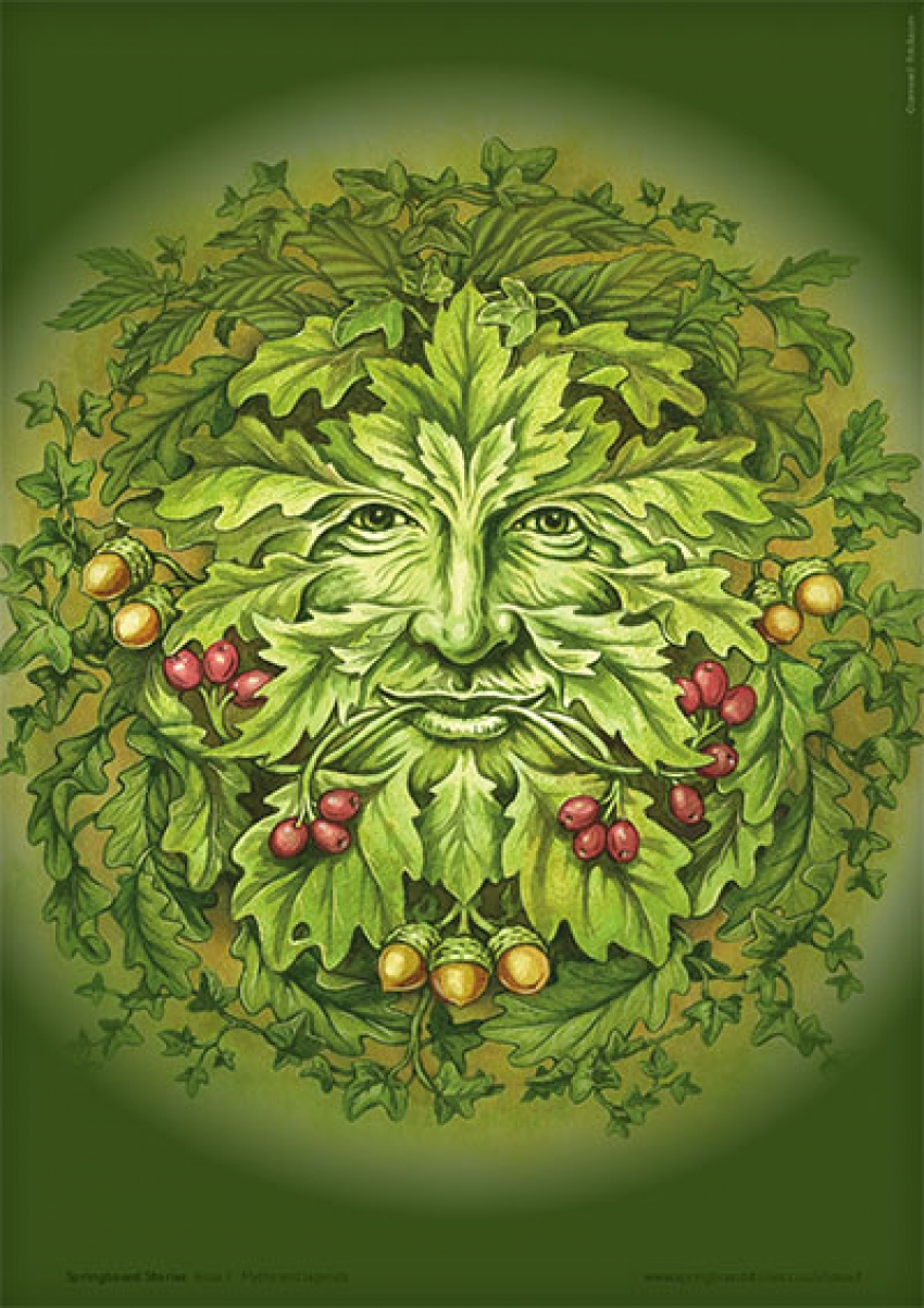 Green man image