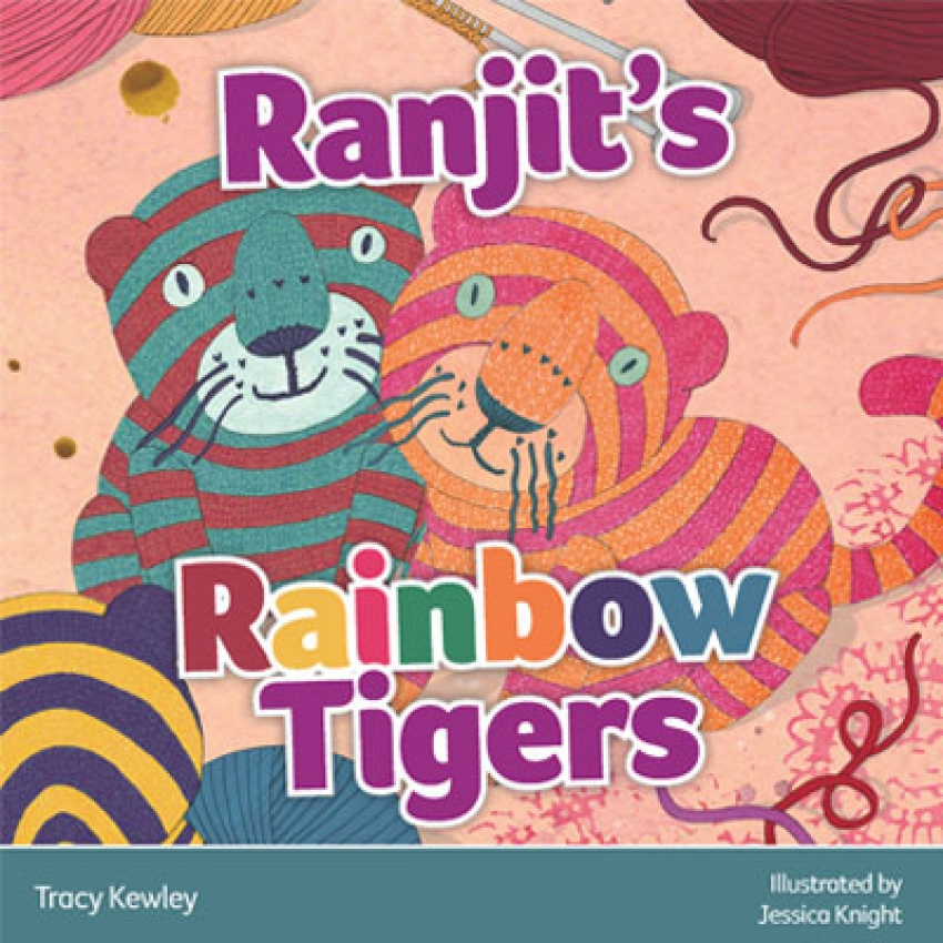 Ranjit's rainbow tigers children's book
