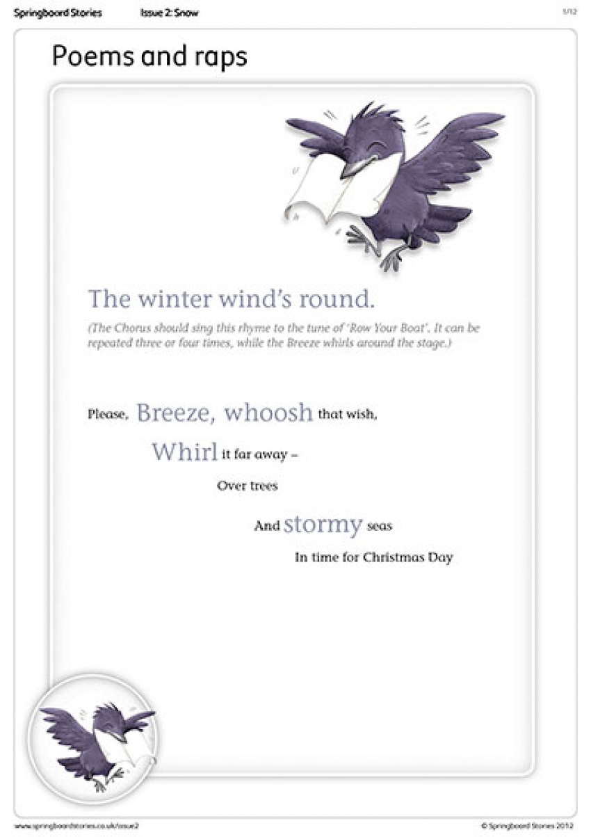 The Christmas Wish poems – primary resource