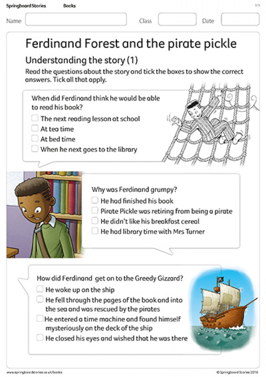 Understanding the story comprehension resource