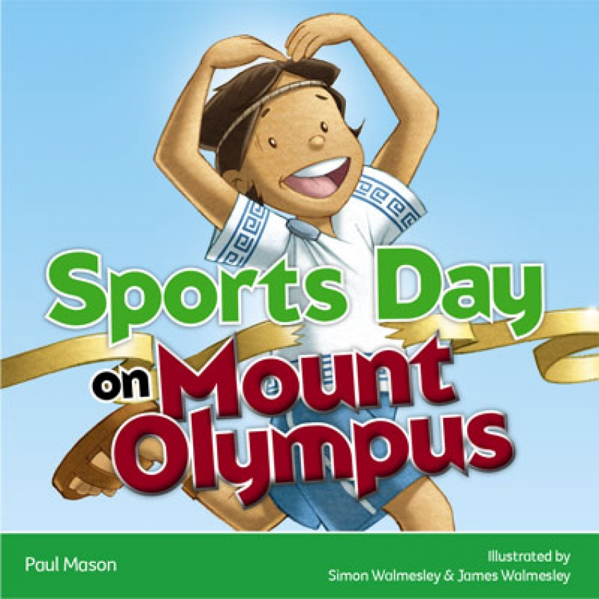 Sports Day on Mount Olympus ebook resource for primary schools