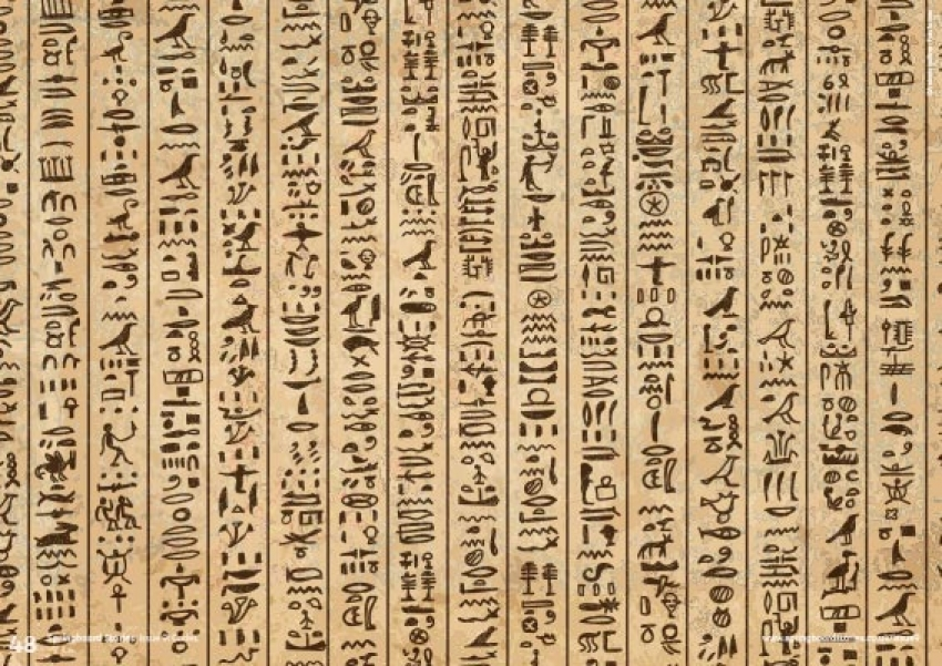 Hieroglyphs image primary resource