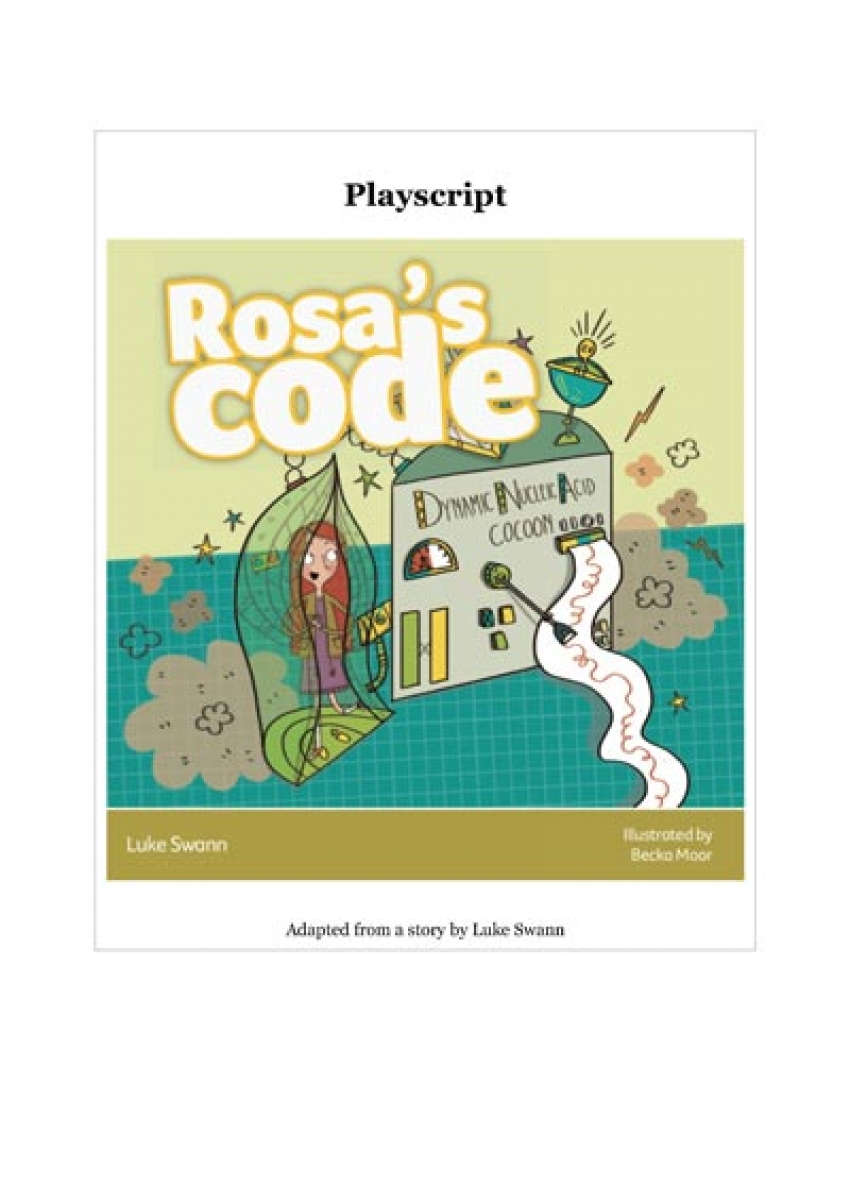 Rosa's code playscript primary resource