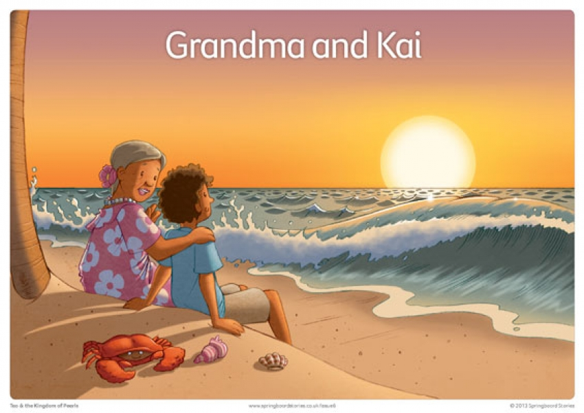 Tao and the Kingdom of Pearls storytelling prompts – Keywords primary resource