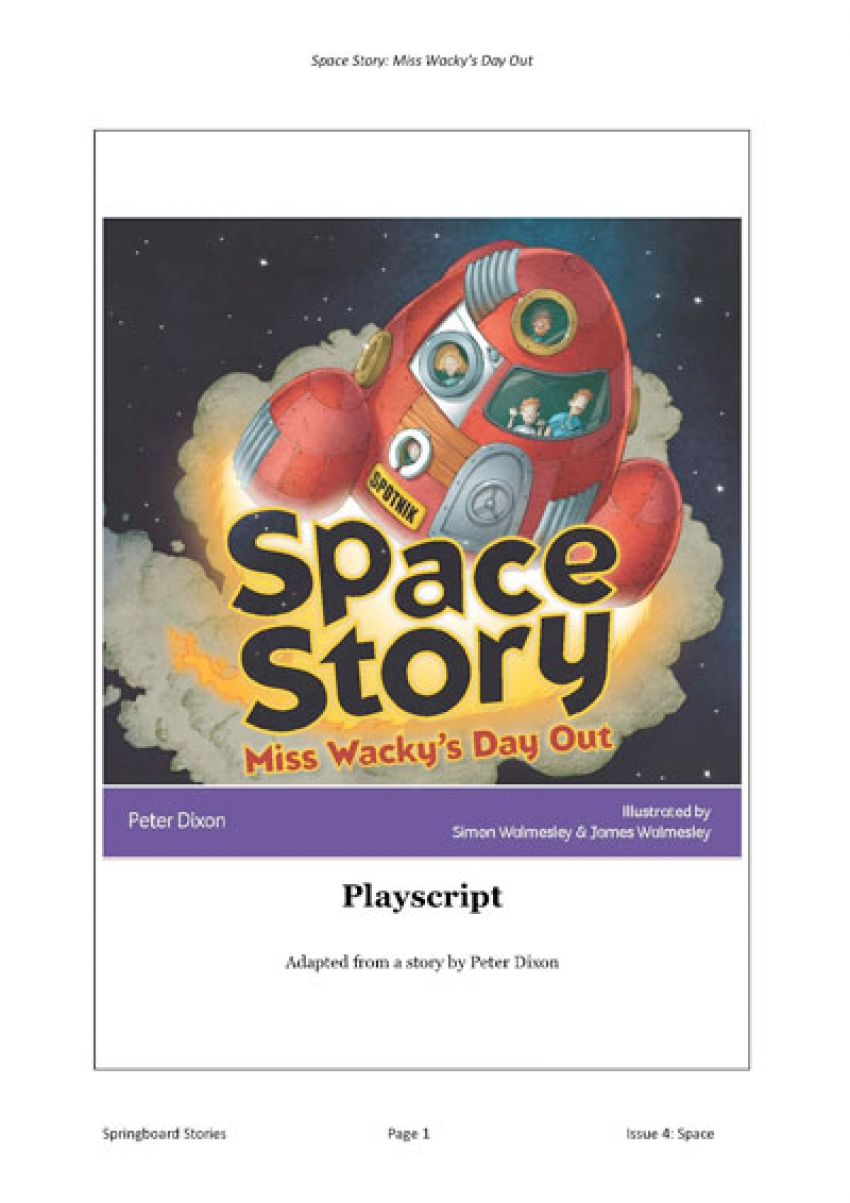 Space Story playscript