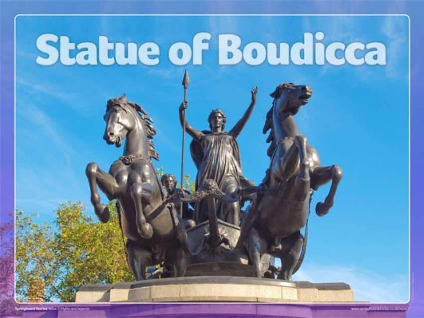 The statue of Boudicca slideshow