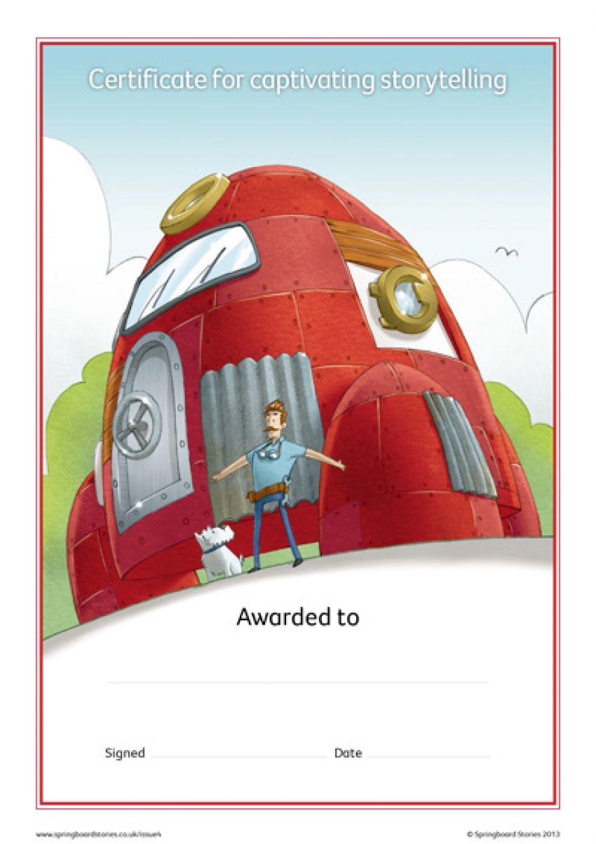 Space storytelling certificate – KS2