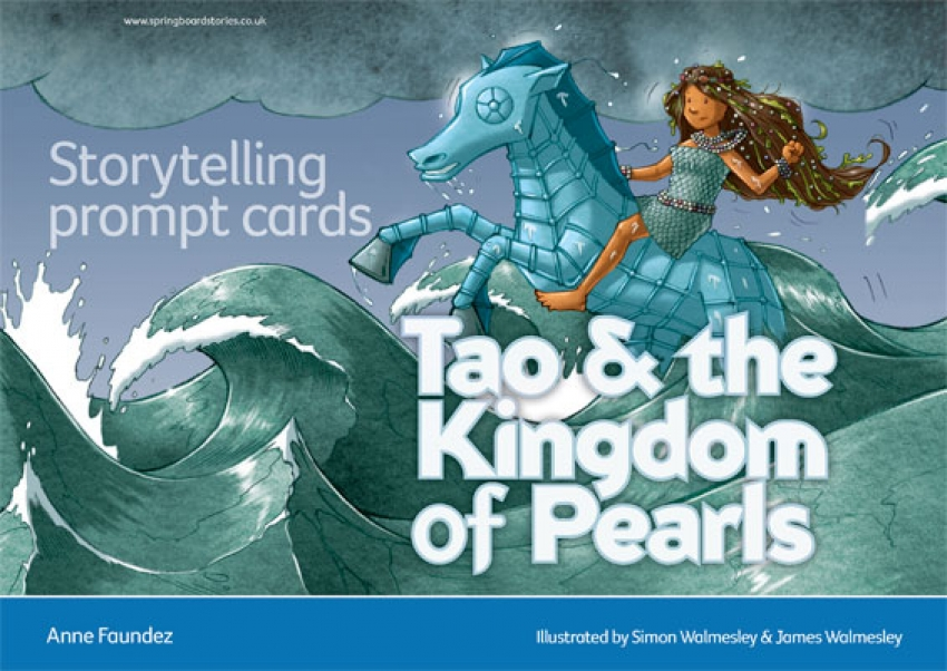 Tao and the Kingdom of Pearls storytelling prompt cards