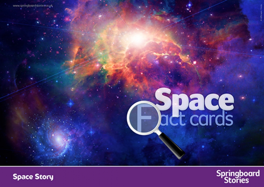 Space fact cards