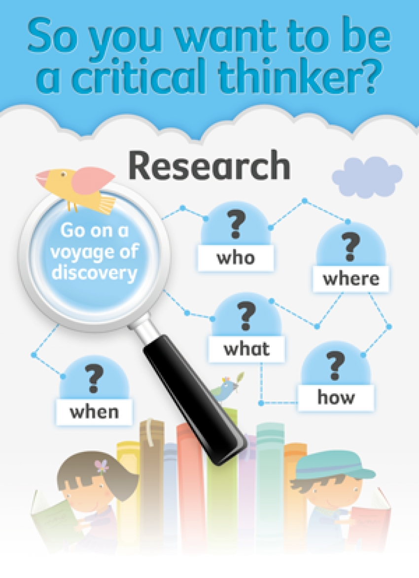 Be a critical thinker - primary resource